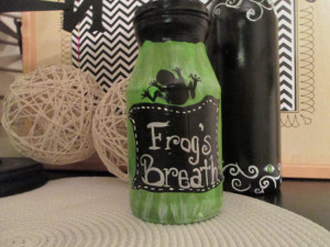 Halloween Potion Bottle- Frogs Breath (Halloween Clearance item ...