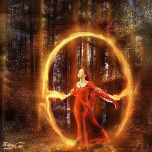 Create a Vortex of energy with sacred spaces…