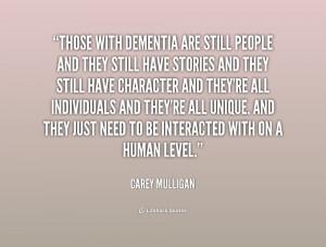 Dementia Quotes