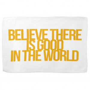 Inspirational and motivational quotes kitchen towel