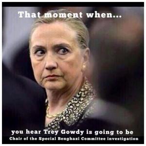 Rep. Trey Gowdy To Subpoena Hillary Clinton, Dismisses Death Threat