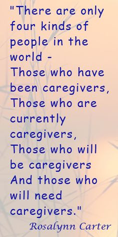 Quote on Caregivers; Caregiver's Heart Episode 2: How Does Caregiver ...
