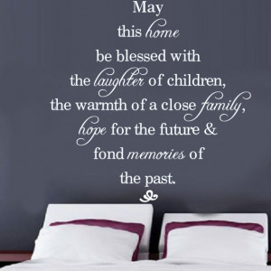Home Blessing Quote