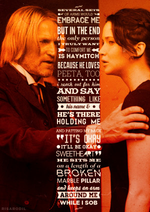 Haymitch Hunger Games Quotes. QuotesGram Catching Fire Movie Quotes