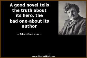 ... bad one-about its author - Gilbert Chesterton Quotes - StatusMind.com