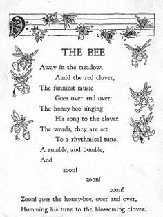 honey bees and flowers relationship poems