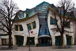 Funny photos creative warped building design dream