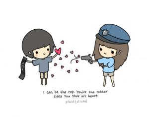 cartoon, heartbreak, love, love loss, stolen heart