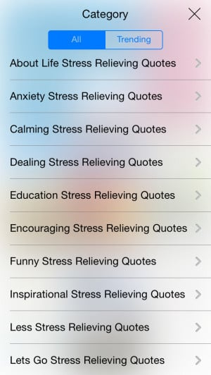 Stress Relieving Quotes - Relaxation Sayings & Inspirational Stress ...