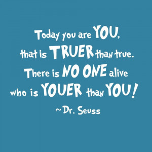 Dr. Suess Motivational Quote