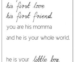 Description: Favorite Mother & Son Quotes and Sayings | firstimemom
