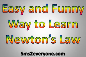 easy and funny way to learn newtons law story of newton s law a cow ...