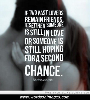 Second chance love quotes