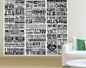 Motivational Quotes Wallpaper For Restaurant Office House Wall