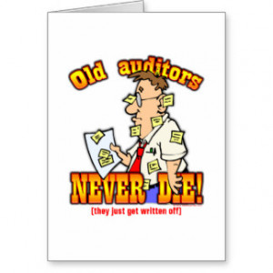 Funny Auditor Cards And More