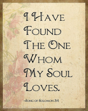Love Song of Solomon Wedding Gift by ShadetreePhotography on Etsy, $20 ...