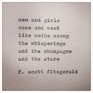 Great Gatsby Quotes Quotes Great Gatsby Quote Typed on Typewri