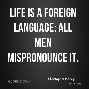 Foreign language Quotes