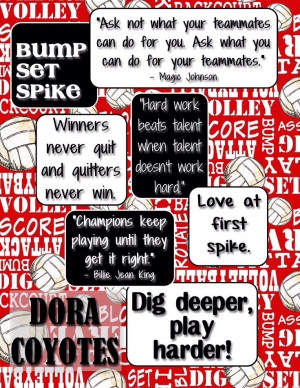 Great volleyball quotes