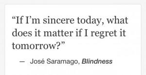 Jose Saramago, Blindness #quotes