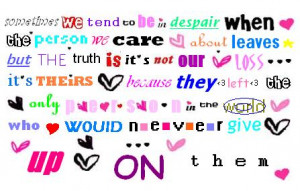 Letters Love Quotes