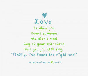 ... found the right one | FOLLOW BEST LOVE QUOTES ON TUMBLR FOR MORE LOVE