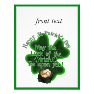 st_patricks_day_may_the_luck_of_the_irish_invitation ...