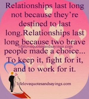 Yes. Long lasting love is a choice.