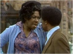 Sanford & Son - Aunt Esther and her hen-pecked wino husband Woodrow ...