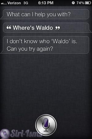 Where's Waldo? ~ Funny Siri Sayings