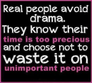 No Drama Quotes