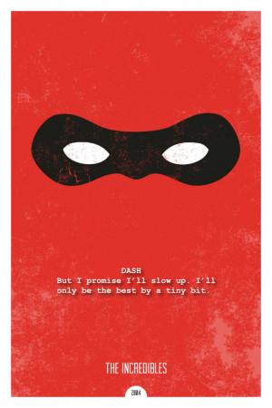 Minimal Inspirational Pixar Movie Quote Posters