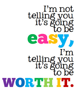 Not Telling You It's Going To Be Easy...I'm Telling You It's Going ...