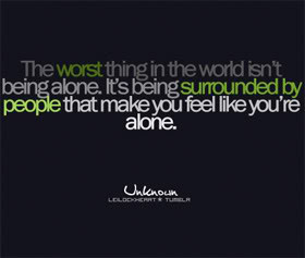 Quotes about Being_Alone