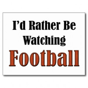Football Sayings Postcards