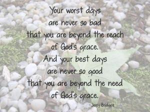 God's Grace (quote)