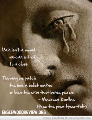 ... , cute, heartfelt, heartfelt by maureen doallas, love, pain, poetry