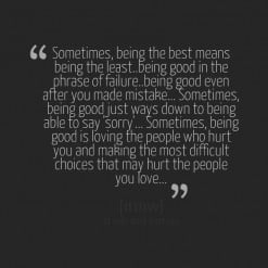 Im Sorry For Hurting You quotes 1 Being Hurt By Someone You Love