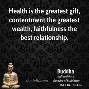 buddha-buddha-health-is-the-greatest-gift-contentment-the-greatest ...
