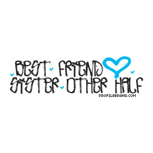 Best Friend Sister Other Half Friendship-Quotes Graphic