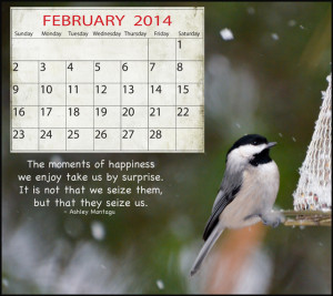 February Quotes For Calendars Here is a free february 2014