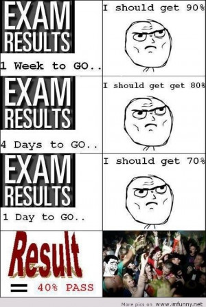 ... Most Funny Hilarious LOL Jokes, SMS, Messages, Quotes On Exam Results