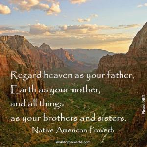Native American Proverb [18225]