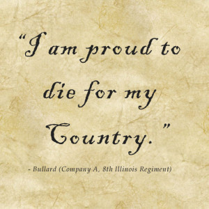 CIvil War Soldier Quote