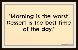 Captains' Quotes – Not a Morning Person