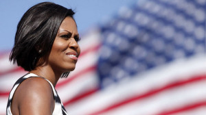 Michelle Obama has shied away from tackling overtly political subjects ...