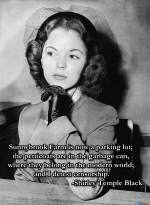 Shirley Temple Black Quotes