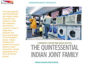 The quintessential indian joint family