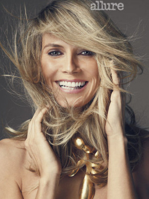 Heidi Klum: Her Allure Photo Shoot: Cover Shoot: allure.com
