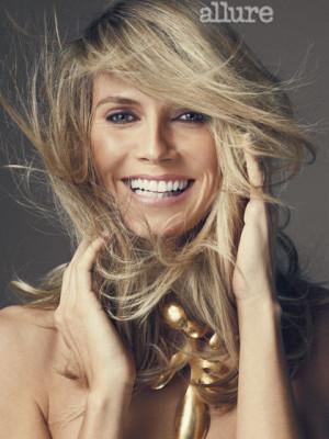 Heidi Klum: Her Allure Photo Shoot: Cover Shoot: allure.com